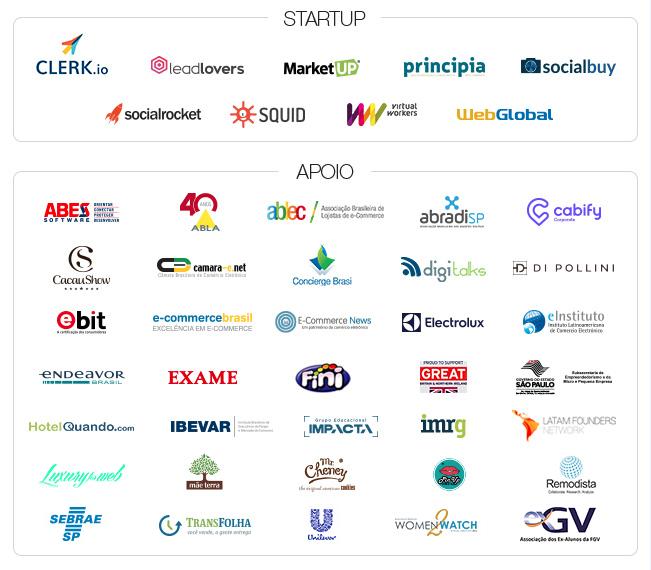 Patrocinadores VTEX Day 2017 - O maior evento de varejo multicanal da América Latina